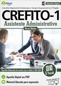 Assistente Administrativo - CREFITO - 1ª Região
