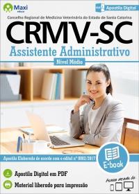 Assistente Administrativo - CRMV - SC