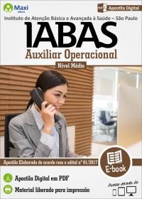Auxiliar Operacional - IABAS