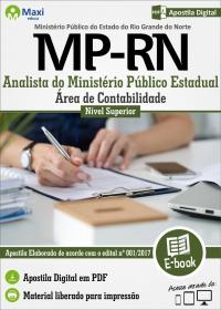 Analista - Área de Contabilidade - Ministério Público - RN