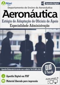 EAOAp - Especialidade Administração - Aeronáutica