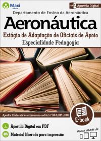 EAOAp - Especialidade Pedagogia - Aeronáutica