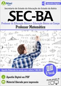 Professor - Matemática - SEC - BA