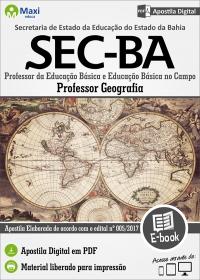 Professor - Geografia - SEC - BA