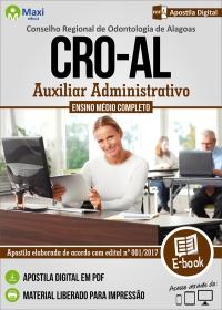 Auxiliar Administrativo - CRO - AL