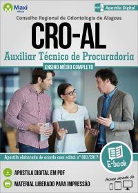 Auxiliar Técnico de Procuradoria - CRO - AL