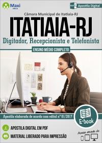 Digitador, Recepcionista e Telefonista - Câmara de Itatiaia - RJ