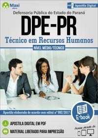 Técnico em Recursos Humanos - DPE-PR
