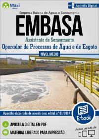 Operador de Processos de Água e de Esgoto - Embasa