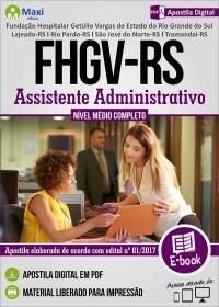 Assistente Administrativo - FHGV-RS