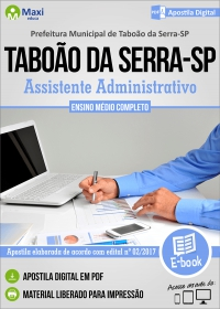 Assistente Administrativo - Prefeitura de Taboão da Serra - SP
