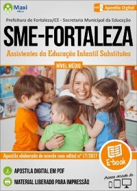 Assistentes da Educação Infantil Substitutos - SME - Fortaleza - CE