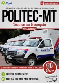 Técnico em Necropsia - POLITEC - MT