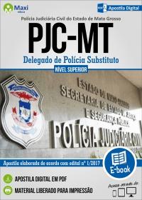 Delegado de Polícia Substituto - PJC - MT