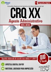 Agente Administrativo - CRQ - MS