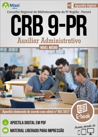 Auxiliar Administrativo - CRB 9ª Região - PR
