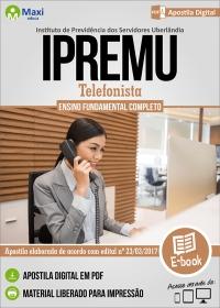 Telefonista - IPREMU - Uberlândia - MG