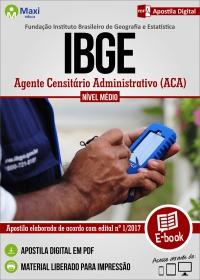 Agente Censitário Administrativo ACA - IBGE