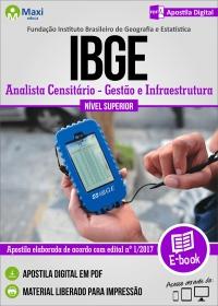 Analista Censitário - Gestão e Infraestrutura - IBGE