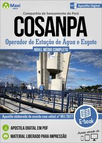 Operador de Estação de Água e Esgoto - COSANPA