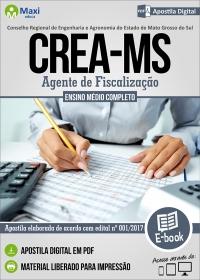 Agente de Fiscalização - CREA - MS