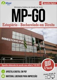 Estagiário - Bacharelado em Direito - Ministério Público - GO