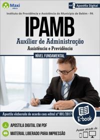 Auxiliar de Administração - IPAMB - PA