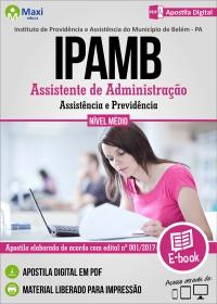Assistente de Administração - IPAMB - PA
