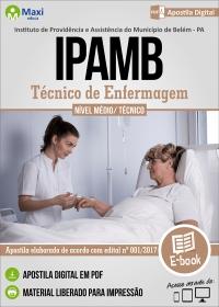 Técnico de Enfermagem - IPAMB - PA