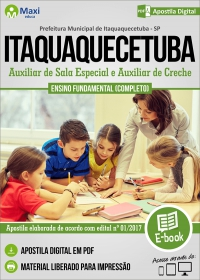 Aux. de Sala Especial e Aux. de Creche - Prefeitura de Itaquaquecetuba - SP