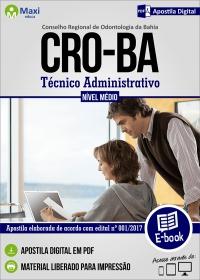 Técnico Administrativo - CRO-BA