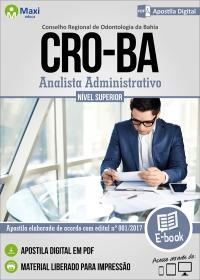 Analista Administrativo - CRO-BA