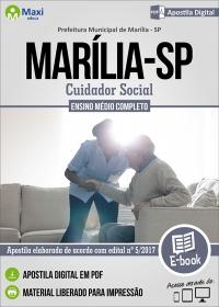 Cuidador Social - Prefeitura de Marília - SP