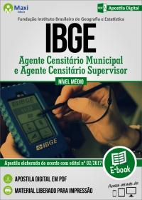 Agente Censitário Municipal e Supervisor ACM/ACS - IBGE