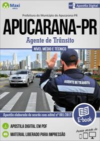 Agente de Trânsito - Prefeitura de Apucarana - PR