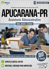 Assistente Administrativo - Prefeitura de Apucarana - PR