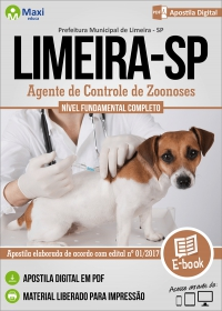 Agente de Controle de Zoonoses - Prefeitura de Limeira - SP