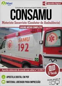 Motorista Socorrista - CONSAMU