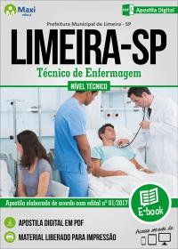 Técnico de Enfermagem - Prefeitura de Limeira - SP