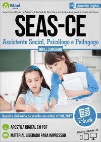 Assistente Social, Psicólogo e Pedagogo - SEAS-CE