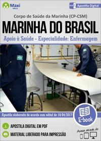 Apoio à Saúde - Enfermagem - CP-CSM - Marinha do Brasil