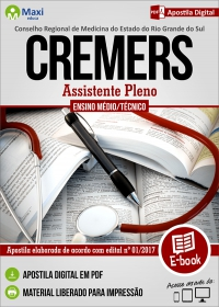 Assistente Pleno - CREMERS - RS