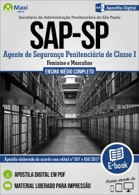 Agente de Segurança Penitenciária - SAP-SP