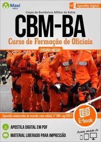 Curso de Formação de Oficiais - Corpo de Bombeiros Militar - BA