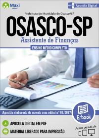 Assistente de Finanças - Prefeitura de Osasco - SP