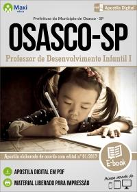 Professor de Desenvolvimento Infantil I - Prefeitura de Osasco - SP