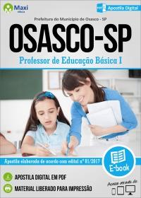 Professor de Educação Básica I - Prefeitura de Osasco - SP