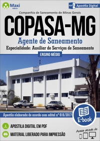 Agente de Saneamento - COPASA - MG