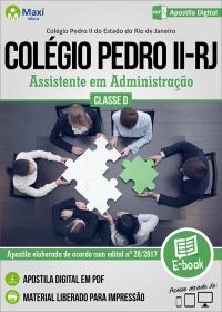 Assistente em Administração - Colégio Pedro II - RJ