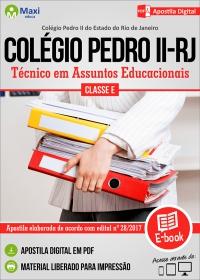 Técnico em Assuntos Educacionais - Colégio Pedro II - RJ